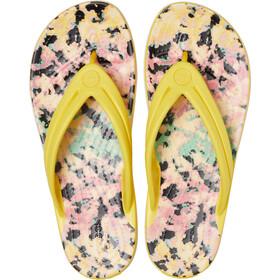 Crocs Crocband Tie Dye Mania Sandalias de Piel Mujer, sunshine
